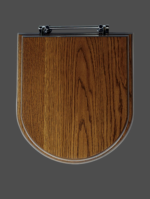 Connaught Luxury Wooden Lavatory Seat