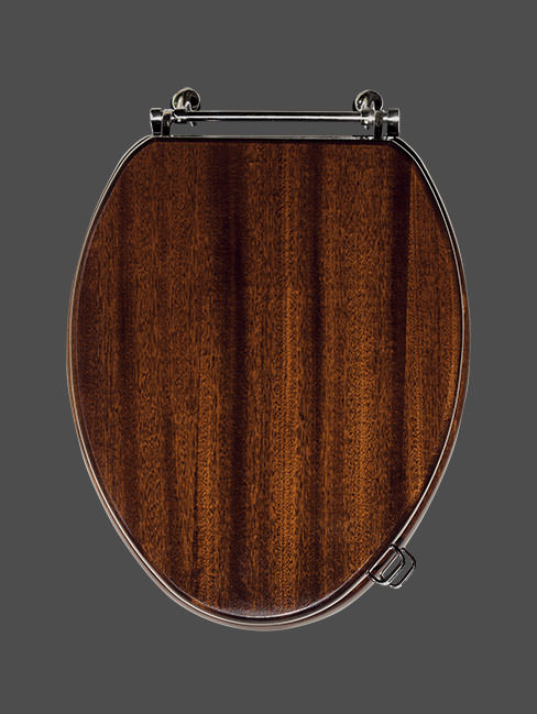 Long Island Luxury Wooden Lavatory Seat
